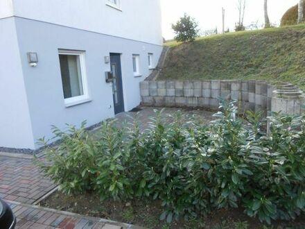Schönes Apartment mit großer Terrasse, 1 Zimmer, Küche, Bad, 2 Abstellräume, 1 Stellplatz möglich