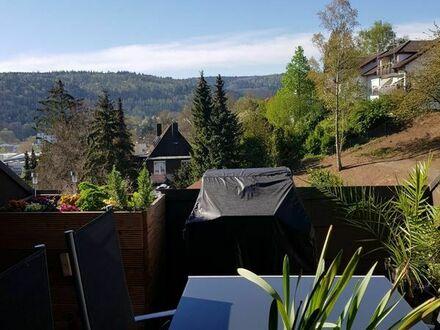 wunderschöne Dachgeschoßwohnung mit Blick auf den Nordschwarzwald