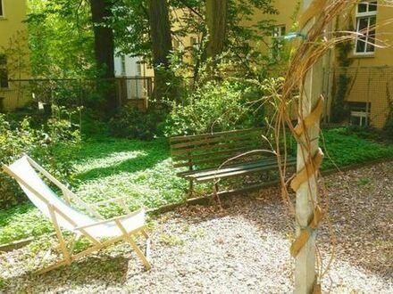 NUR TAUSCH: Schöne, sanierte 2 Zi-Altbau-GartenWHG gegen 3 Zi-WHG