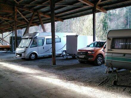 Hallenstellplatz für Wohnwagen, Wohnmobil, Boot, Anhänger, Pkw