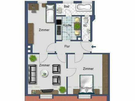 WG-Zimmer in 3-Zimmer-Wohnung in der Nordstadt an weibliche Bewohnerin