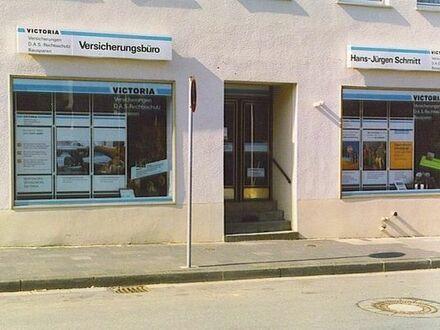 Büro im Stadtzentrum, gute Parkmöglichkeiten, eigener Eingang