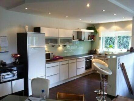 3 ZKB Erdgeschoss Wohnung plus Hobbyraum, Balkon, Terrasse, Garten. Einbauküche und Badewanne/Dusche