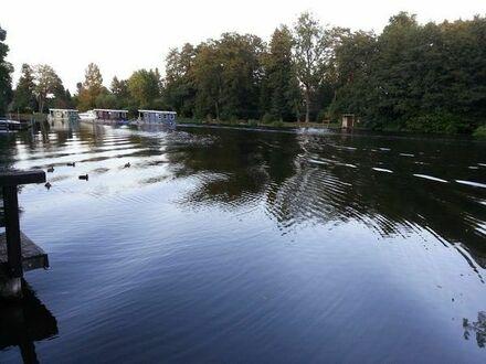 Wassergrundstück an der Dahme mit Bootsanleger Heidesee / Prieros Bundeswasserstraße