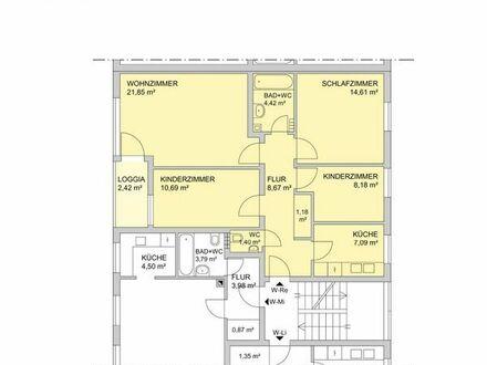 4-Zimmer-Wohnung ab sofort