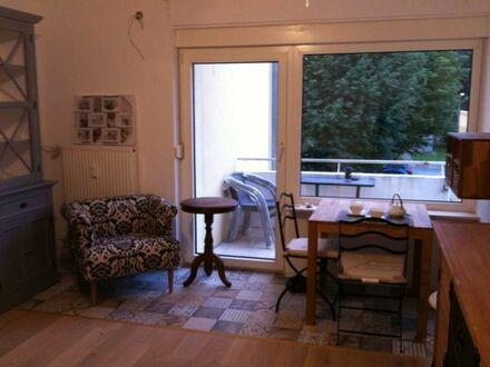 Zimmer mit Balkon in Kliniknähe