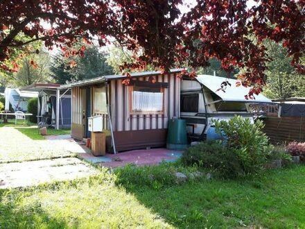 Feststehender Wohnwagen incl. Vorbau und Küche in Bad Peterstal