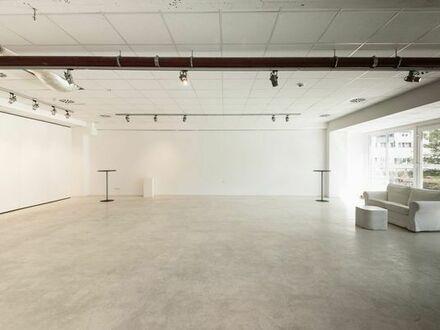 Heller Galerie-Raum für Ausstellungen, Shootings, Seminare, Workshops und Events