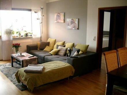 Schöne 2,5 Zimmer Wohnung mit Fernblick auf die Bergstrasse 73 qm