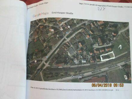 Bauplatz in Murrhardt Fornsbach für 7 RH -4 DHH oder 2 EFH