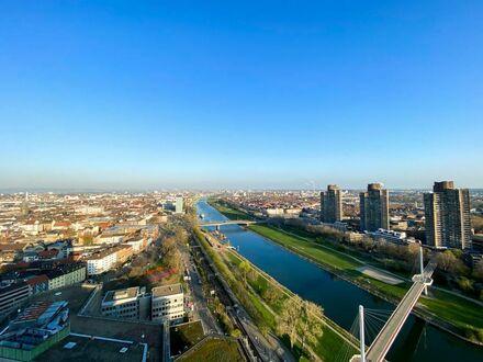 Atemberaubende Luxuswohnung über den Dächern Mannheims