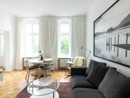 Gemütliche 2-Zimmer-Wohnung am angesagten Bergmannkiez - komplett möbliert