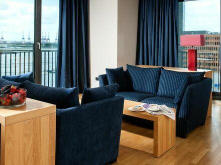 Deluxe Apartment mit Elbpanorama 72m²