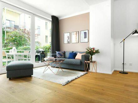 3-Zimmer Luxus-Wellness Loft mit eigener Sauna, Terrasse und Wohnküche am Rosenthaler Platz