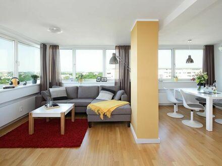 Eine wundervolle Aussicht von einem 3-Zimmer-Apartment