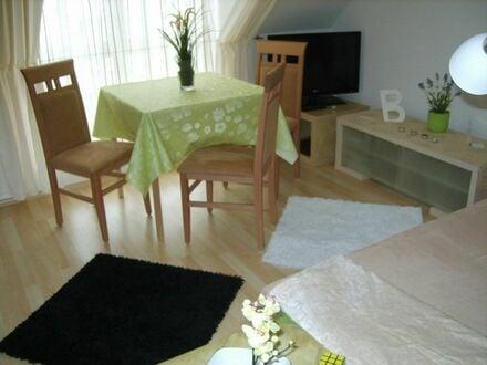Möbliertes komplett ausgestattetes 2-Raum Apartm.mit Stellplatz