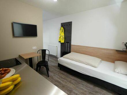 1-Zimmer Apartment mit mobiler Küche