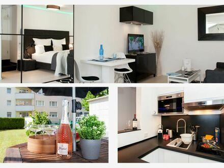 SmartWorking Wohnung mit Garten-Terrasse und Klimaanlage. Top Lage Frankfurt/Offenbach