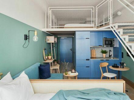 Modern gestaltete Wohnung