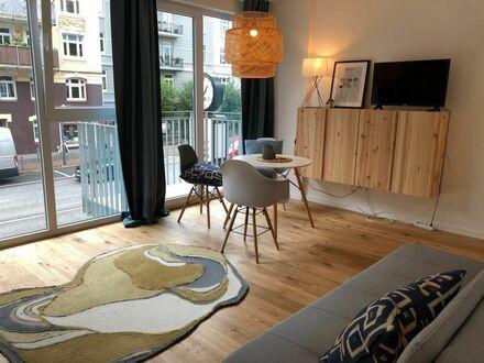 Hochwertig möbliertes City-Appartment zentral in Eppendorf