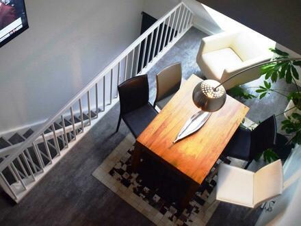 gehobene Maisonettewohnung über 3 Ebenen mit Balkon