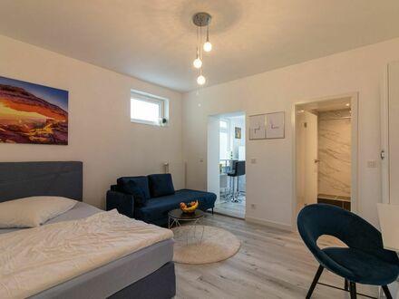 *Neu renoviertes* - vollmöbliertes Premium-1-Zimmer-Apartment