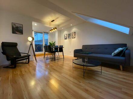 Neu renovierte schöne Wohnung mit Balkon