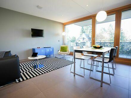 Modernes Loft Apartment mit Küche, PKW-Stellplatz, Wäscheservice, nahe der UBahn