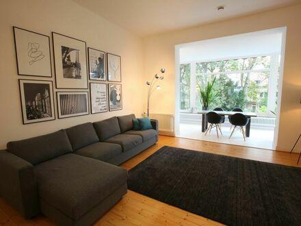 Beletage: Ruhige 3-Raum Wohnung mit Terrasse - Top Wohnlage am Stadtwald