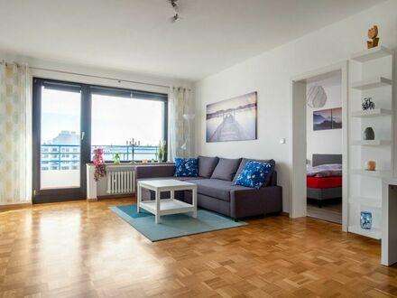 Modernes 2 Zimmer-Apartment mit Balkon