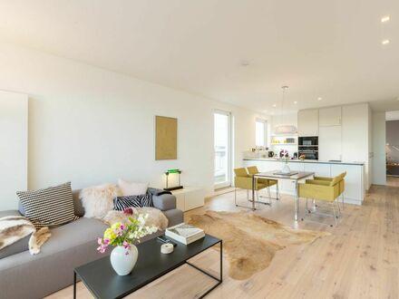 2-Zi-Penthouse mit Rheinblick im Kölner Süden - sicher und angenehm in Corona-Zeiten