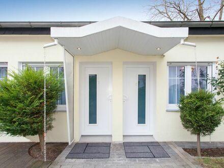 Modern Möbliertes Wohnung in Neu Isenburg mit W-LAN, Klimaanlage und Terrace-Patio mit GARTEN. Design App, Alle inkl. (…