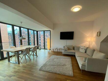 City-Apartment mit in der Speicherstadt