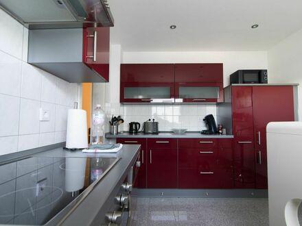 Schönes Apartment zentral aber in ruhiger Lage mit Gartenblick