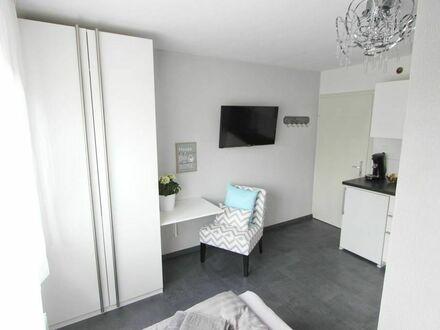 Modernes kleines Studio mit Küche und Bad
