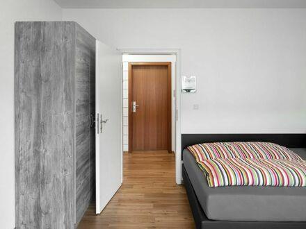 City Apartments am Rhein mit Anmeldung & Self-Check-In