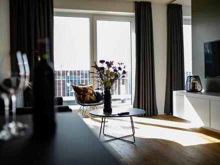 Geräumiges Apartment mit Dachterrasse im Stadthafenviertel