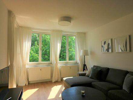 Ansprechend möblierte 3-Zimmer Wohnung mit großem Balkon