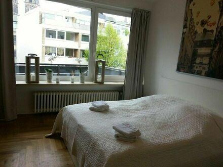 City Apartement- mit Balkon und W-LAN