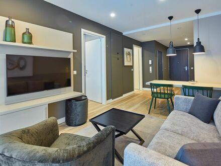 Voll ausgestattetes 2-Zimmer Business Apartment mit Balkon im roomments. Apartmenthouse