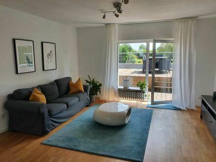 Ruhige Wohnung mit großer Dachterrasse und guter Anbindung im bevorzugten Essener Süden