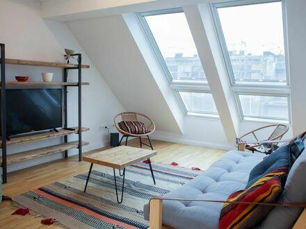 Modernes Penthouse mit Aussicht