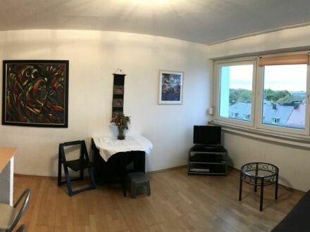 2 Zimmer Appartement mit Blick über München bis zu den Alpen