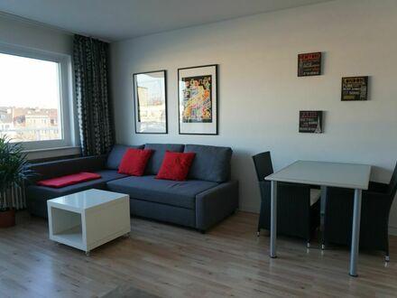 helles und modernes 1-Zimmer Apartment im beliebten Stadtteil Düsseltal/Zoo-Viertel