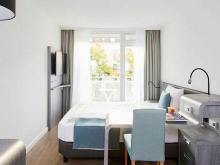Ruhiges Apartment mit Kitchenette und Blick ins Grüne
