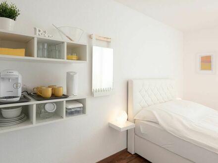 Möbliertes Apartment mit Boxspringbett im Univiertel