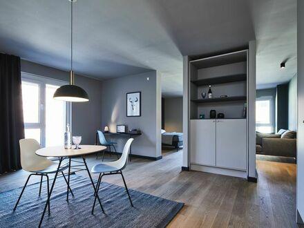 Extra Luxury Design-Serviced-Apartment mit Terrasse in Wolsburg - VW-Werk Nähe