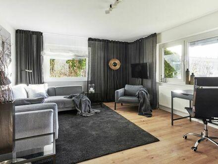 Helles Apartment mit Terrasse