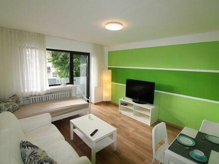 15 Minuten nach Köln! Möbliertes Appartement am Bahnhof Schlebusch