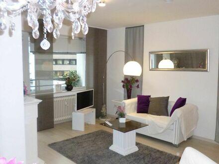 zentrales,schickes, modernes Appartement ca. 40 qm mit Balkon